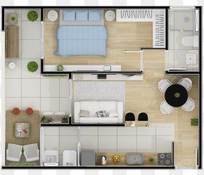 Studio One - Interior Design Services Floor Plan PNG