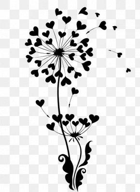 Dandelion - Common Dandelion Illustration PNG