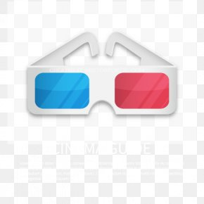 Vector 3D Eye - Goggles Sunglasses PNG
