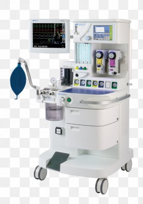 Anaesthetic Machine Anesthesia Medicine General Anaesthesia Medical Ventilator PNG