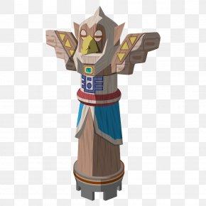 Taobao Decoration Materials - The Legend Of Zelda: The Wind Waker Hyrule Warriors Link Statue PNG