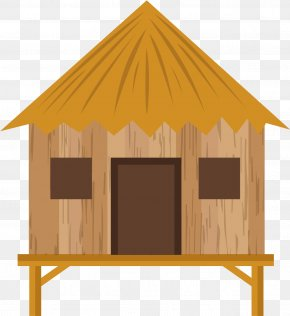 Wood Shed - Building Background PNG