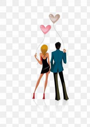 Cartoon Couple - Stock Photography Cartoon Royalty-free Illustration PNG