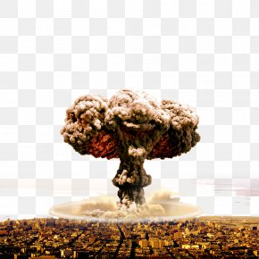 Explosion - Nuclear Explosion Nuclear Weapon Mushroom Cloud PNG