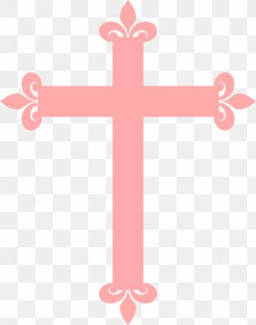 Christening Cliparts - Baptism Christian Cross Baptists Crucifix Clip Art PNG