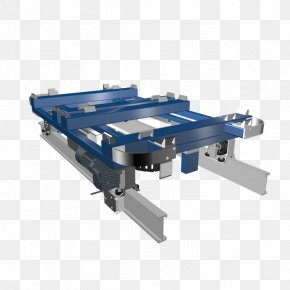 Box Logistics - Monorail Car Conveyor System Industry Material Handling PNG