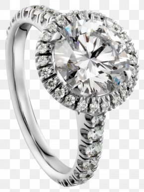 Jewelry Diamond Ring Free To Pull The Material Image Map - Cartier Engagement Ring Diamond Jewellery PNG