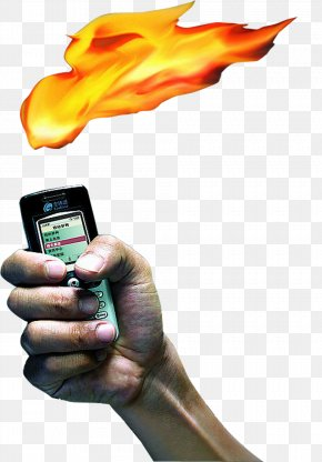 Phone Flame - Light Flame Fire PNG