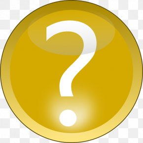 Question Mark - Button Icon Clip Art PNG
