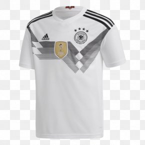 T-shirt - 2018 FIFA World Cup Germany National Football Team T-shirt Jersey Adidas PNG
