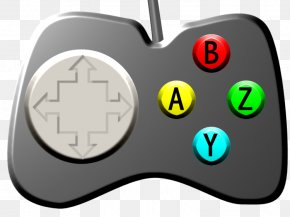 Gamer Cliparts - Video Game Console Clip Art PNG