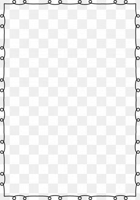 Free Page Border - Black White Angle Pattern PNG