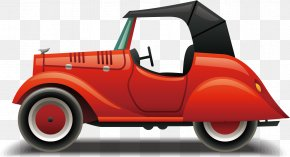 City Car Toy Vehicle - Classic Car Background PNG