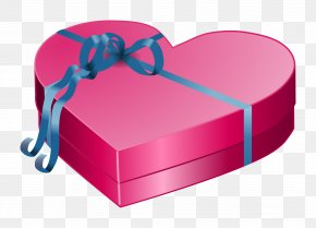 Gift - Valentine's Day Gift Heart Clip Art PNG