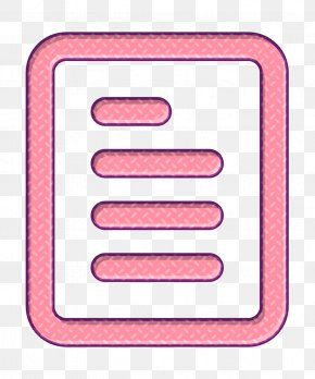 Peach Material Property - Paper Icon PNG