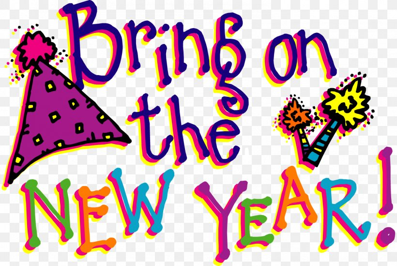 New Years Day Wish New Years Eve Clip Art, PNG ...