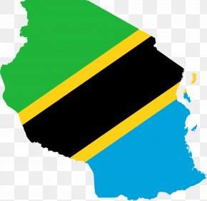 Flag - Flag Of Tanzania Map National Flag PNG