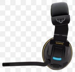 GREYHAWK (EU) 7.1 Surround Sound Corsair Components MicrophoneCorsair Wireless Headset Yellow - Corsair Gaming H2100 Dolby 7.1 Wireless Gaming Headset PNG