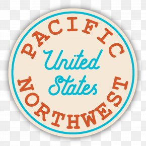 Pacific Northwest - Pacific Northwest Decal Logo Northwestern United States Sticker PNG