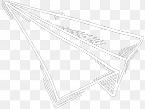 M Line Angle - Product Design Black & White PNG