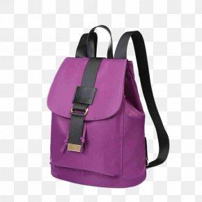 Purple Canvas Drawstring Backpack - Backpack Handbag Canvas PNG