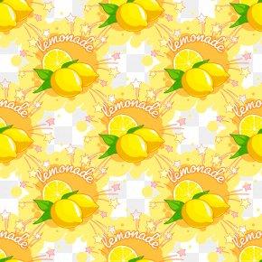 Lemon Yellow Background - Yellow Pattern PNG