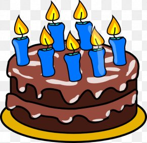 Blurred Clipart - Birthday Cake Wish Clip Art PNG