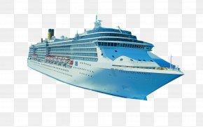 Large Cruise Ship - La Romana, Dominican Republic Cruise Ship Costa Crociere Travel PNG