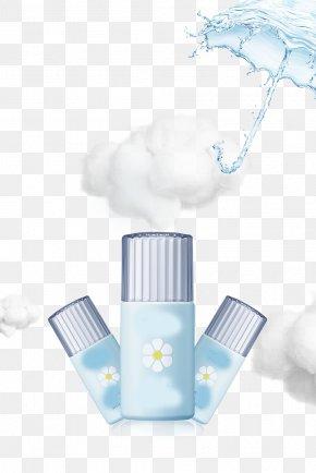 Aesthetic Fresh Sun Umbrella, Sunscreen Advertising PNG