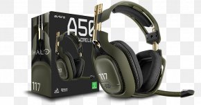 Astro A50 Wireless Headset - Halo: The Master Chief Collection ASTRO Gaming A50 Halo 5: Guardians Xbox 360 Wireless Headset PNG