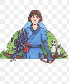 Ashitaka - Illustration Clip Art Costume Design Legendary Creature PNG