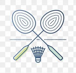 Badminton Racket Illustration - Badmintonracket Shuttlecock Badmintonracket PNG