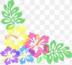 High Resolution Clipart - Hibiscus Schizopetalus Free Content Hawaiian Hibiscus Clip Art PNG