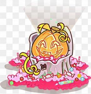 Cake Cartoon - Pink Cartoon Cake PNG