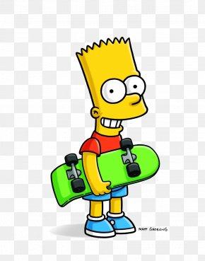 Bart Simpson - Bart Simpson Homer Simpson Lisa Simpson Marge Simpson Maggie Simpson PNG