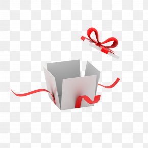 White Gift Box - Christmas Gift Box PNG