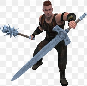Warrior - Sword Weapon Knight Warrior Job PNG