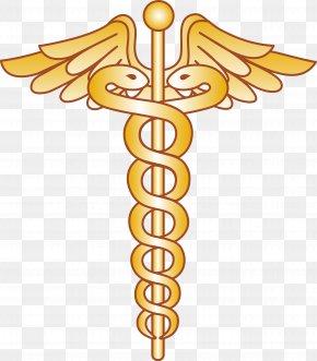 Doctor Symbol Cliparts - Physician Symbol Staff Of Hermes Medicine Clip Art PNG