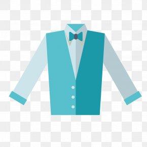 Vector Men's Dress Shirt - T-shirt Robe Tuxedo Dress Shirt PNG
