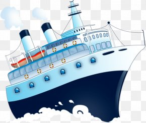 Cartoon Cruises - Chavanga Cruise Ship Watercraft Cartoon PNG