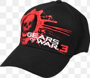 Gears Of War 3 Logo - Gears Of War 3 Logo And Title Baseball Cap Gears Of War 3 Logo And Title Baseball Cap Product Font PNG