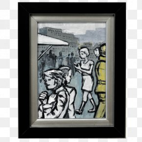 City Scape - Modern Art Painting Picture Frames Work Of Art PNG