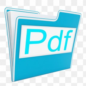 Textured Blue Folder - Portable Document Format Document File Format Stock Photography Computer File PNG