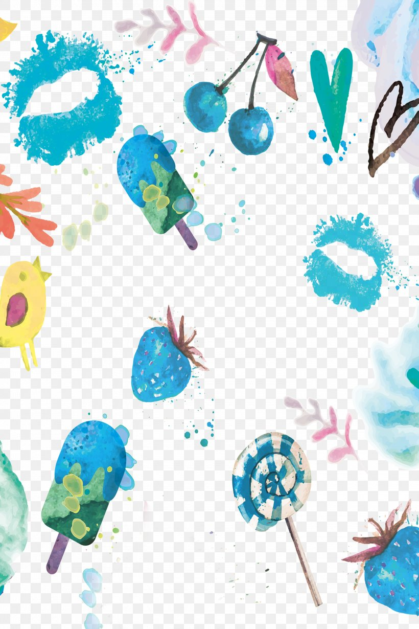 Watercolor Painting Summer, PNG, 3000x4500px, Watercolor Painting, Aqua, Child Art, Drawing, Feather Download Free