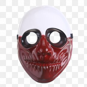 Mask - Payday 2 Mask Costume Masquerade Ball Dallas Wolf PNG