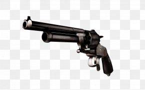 Weapon - Trigger LeMat Revolver Firearm Gun Barrel PNG