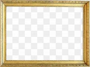Gold Pattern Frame - Picture Frame Download Digital Photo Frame PNG