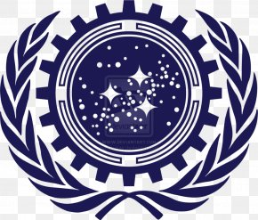National Unity - United Federation Of Planets United States Star Trek Starfleet Flag PNG