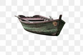 Wooden Boat Decoration Pattern - Watercraft Dugout Canoe Download PNG