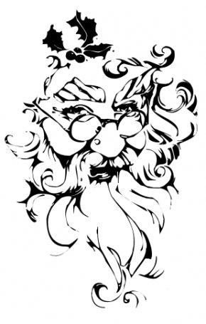 Santa Beard Cliparts - Santa Claus Wedding Invitation Christmas Computer File PNG